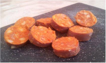Foto von spanischen Chorizos